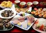 【御宴会コース】 出雲食材が一通り召し上がれるコース
