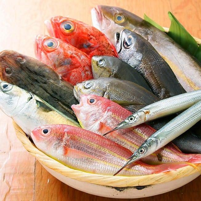 新鮮なお魚料理も大好評です。ぜひご賞味くださいめせ。
