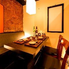 2〜4名様用個室テーブル席
