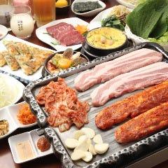 生サムギョプサル食べ放題×焼肉 招待~チョデ~ 新宿店