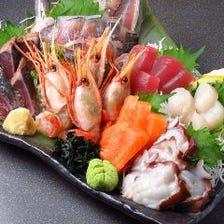 「魚侍」自慢の新鮮お魚料理♪