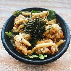 ザンギ丼 タルタルソース