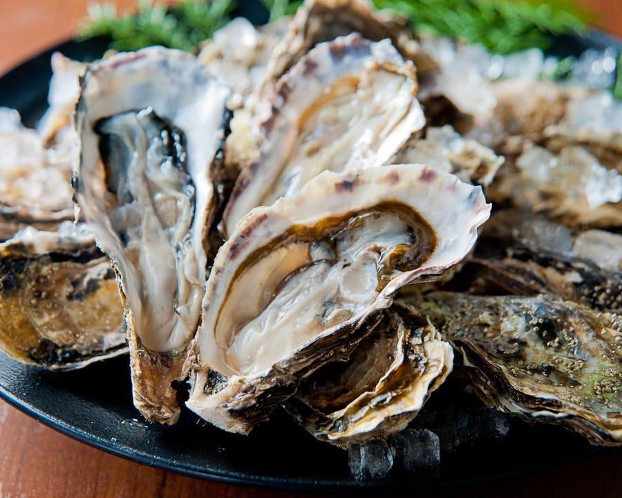 【超名物】厚岸産ぷりぷりの牡蠣