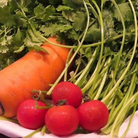 地場の野菜×魚×そしてレモン♪