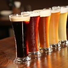 地元のクラフトビールを生樽提供
