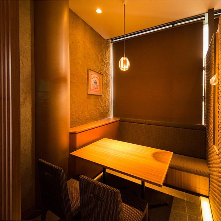 テーブル席・半個室・2名様~4名様