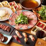 当店自慢のお料理をご堪能いただけるコースは全4種をご用意。