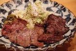 牛たん・牛ハラミの2種定食