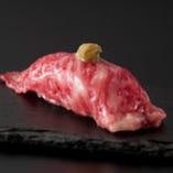 黒毛和牛握り寿司
