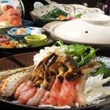 一年中食べられるカニ・ふぐ・すき焼き