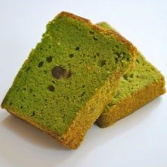 京抹茶のパウンドケーキ