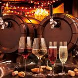 お好きなワインをテイスティングしていただくことも◎ブドウ本来のフレッシュな味わいを試してみては?