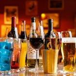 お好きな一杯を味わいながら、至福のひと時をお過ごしください。