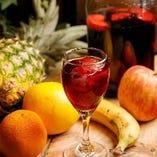 フルーツの美味しさがワインに馴染んだサングリア