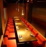 テーブルタイプ窓側宴会個室