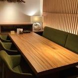 大小個室のご用意がございます。 他のお客様と距離を保った会食をご希望の際はご検討ください。