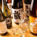 メニューの他にも日本酒ご用意しております。