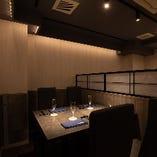 【各種宴会・接待におすすめ】テーブル席(4名様×3卓)