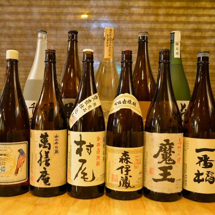 ◆本格焼酎と地酒◆