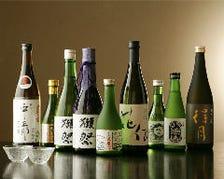 和食に合うお酒にこだわり