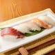 お寿司メニューは握り、ネギトロ巻き、炙り寿司まで盛り沢山!