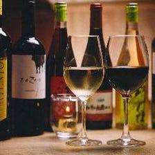 自社輸入ビオワインや熟成肉グリル◎