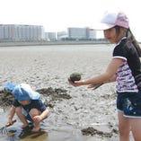潮干狩りプラン【4月~8月】