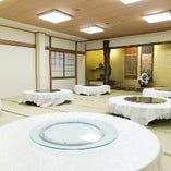 座敷個室は6〜150名様と幅広い個室をお作りすることが可能!大宴会に最適です