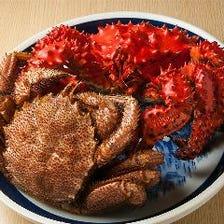 旬の北海道食材は鮮度にこだわり