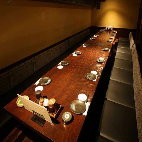 広々空間でお料理をお楽しみ下さい!