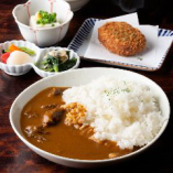 瀬戸山麓牛のビーフカレー定食