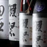【全国の銘酒】鮨との相性抜群な地酒の数々を取り揃えました
