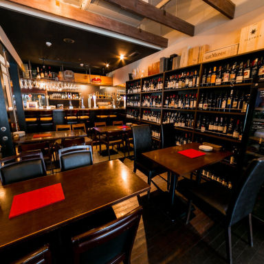 beer & wine厨房 tamaya 八丁堀店 店内の画像