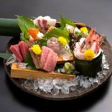 鮮魚六点盛り合わせ(一人前)