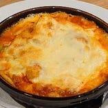 マーボー茄子チーズ焼き