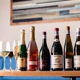 選りすぐりのワインがずらり