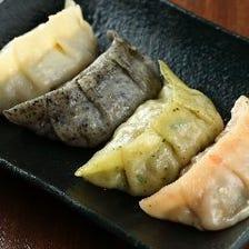 肉汁たっぷり十色カスタマイズ餃子♪