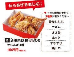 【テイクアウト】 Bset 3種MIX揚げBOX