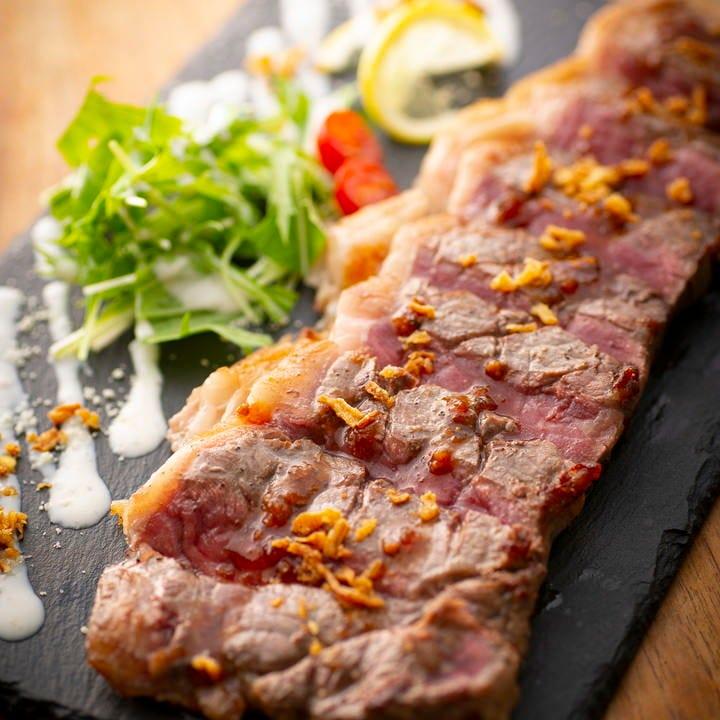 こだわり肉料理は宴会コースでもお楽しみ頂けます♪