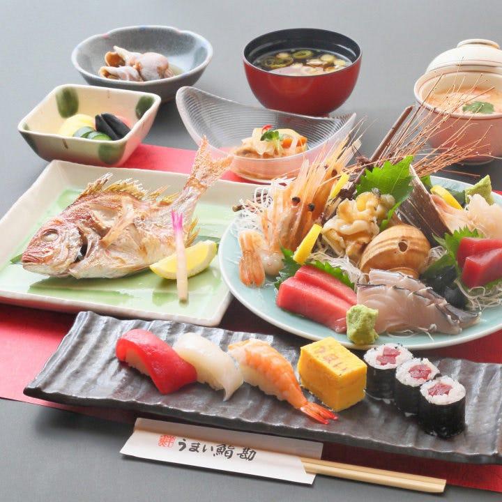 旬の食材と2時間飲み放題が楽しめるコースは5,000円
