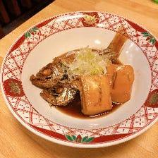 【海鮮】刺し盛り・煮付け・天ぷら