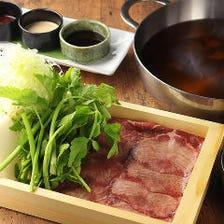 J■牛たんづくしコース 料理10品+120分飲み放題付