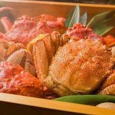 【カニをとことん味わう!】北海道かに食べ尽くしコース 10,000円(宴会 飲み会 歓迎会 送別会 下見 合コン)