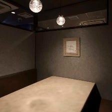接待・会食向け個室席【6名様まで】