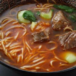 牛スネ肉辛味煮タンメン