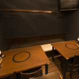スタイリッシュなテーブル席:8名様まで