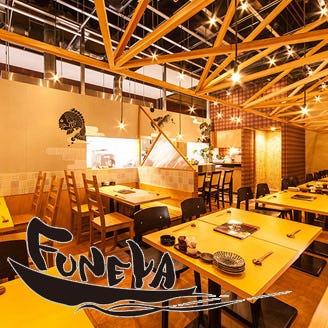 刺身と魚飯 FUNEYA 近江八幡店 コースの画像