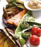 地場産野菜のソテー バーニャカウダー