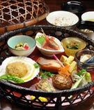 籠盛お膳<Japanese Lunch>