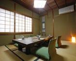 2階にはお座敷個室(10名様迄 テーブル+椅子席にも対応可能)
